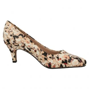 Clarks Isidora Faye Floral Multi Womens Shoes